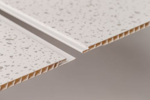 White Sparkle Neptune-250 2600mm x 250mm x 8mm Pack of 4